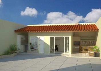simples casas casa fachada modelos construdeia uma