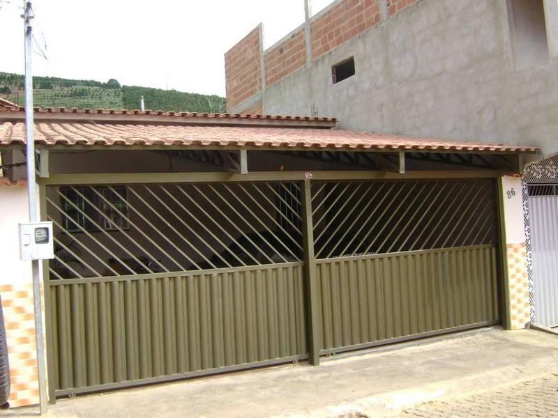 Garagem com Telha Romana  Telhado e Construo