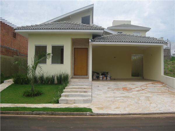 Idias para Fachada de Casas  Plantas e Projetos  Construdeia
