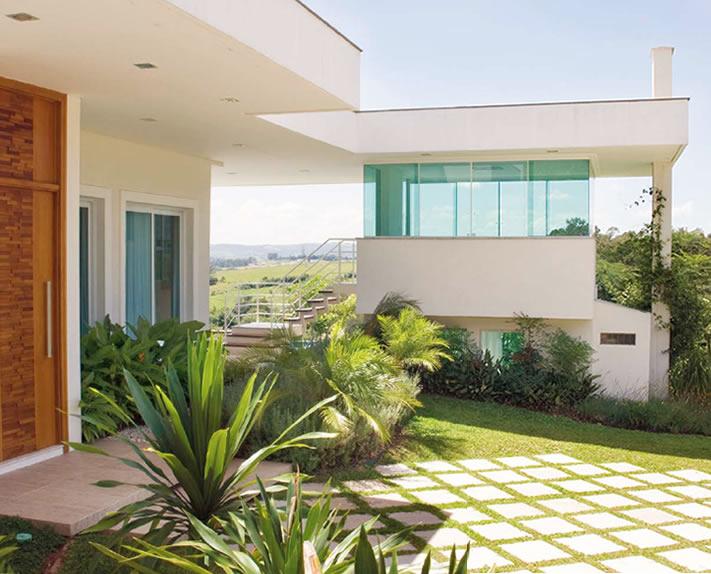 Telhados Embutidos em Brasilit  Casas e Construo