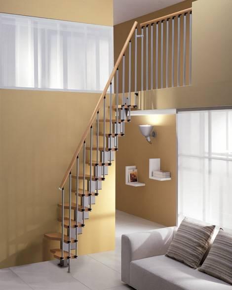 Escadas para Espaos Pequenos  construdeiacom