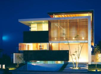 fachadas casas modernas casa moderna vidro fachada frentes intenso amplos exemplo outa possui planos caracteristicas uso esta das