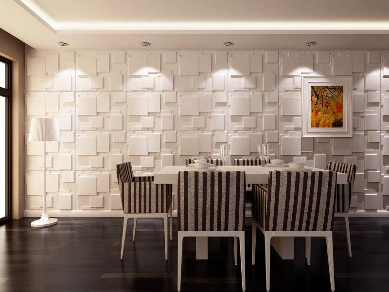 REVESTIMENTO 3D  Parede da Sala Quarto Cozinha e Banheiro