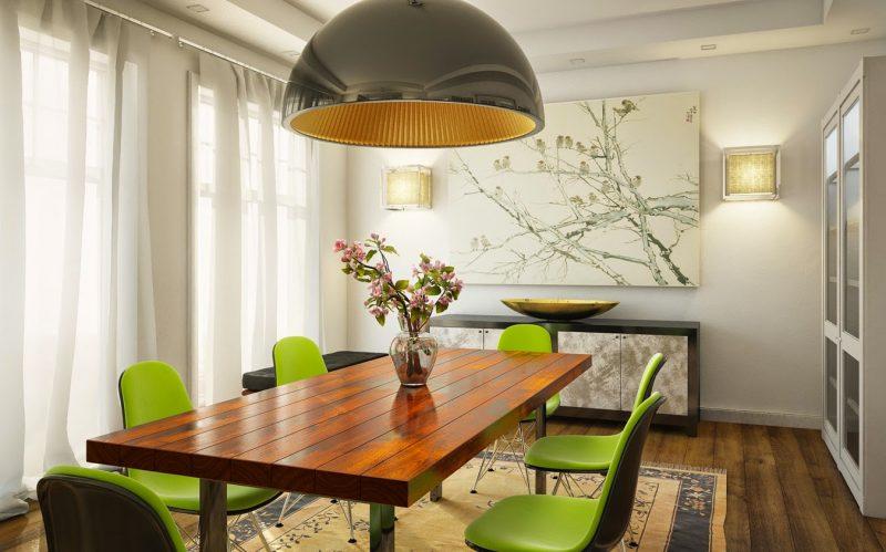 Arranjos de Mesa  Mesa de Jantar Simples e Barato