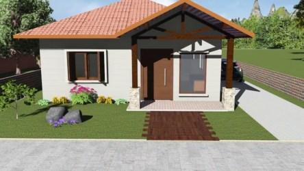 casas pequenas simples bonitas dentro baratas modelos fachadas tu refugio hogar construindodecor