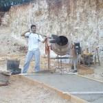 Base cimentación
