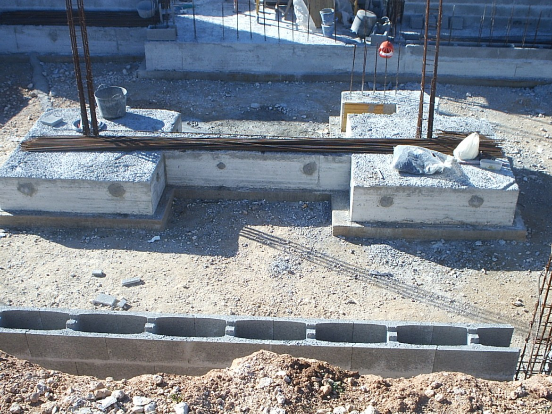 como hacer los cimientos de una casa