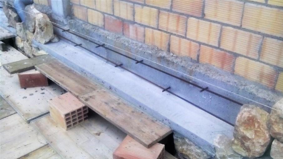 Hacer un dintel en pared de piedra