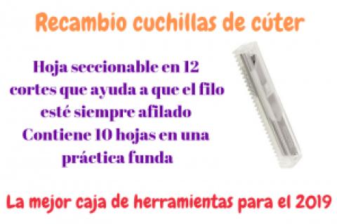 RECAMBIO DE CUCHILLAS