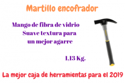 MARTILLO DE ENCOFRADOR