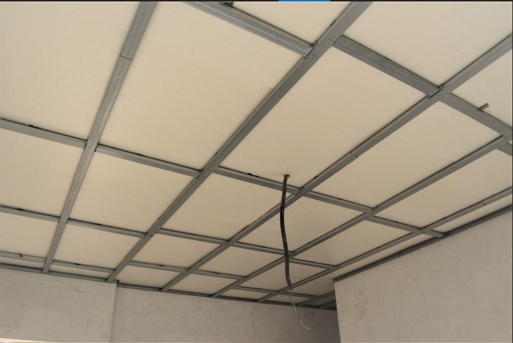 Colocar un falso techo con pladur