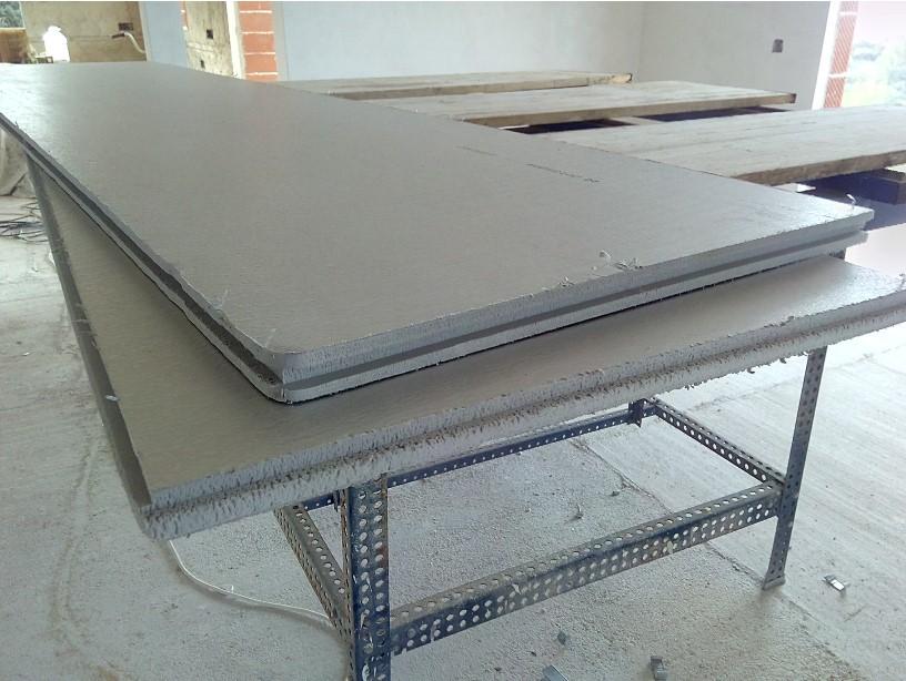 Plancha de poliestileno 260x60x3 cm.