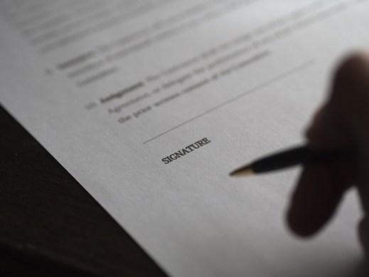 signature chez notaire