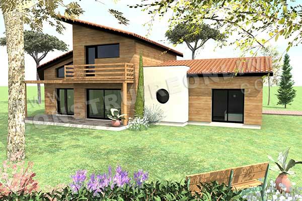 Plan Maison Helios Terrasse