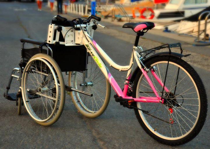 silla de ruedas bicicleta  Las sillas de ruedas