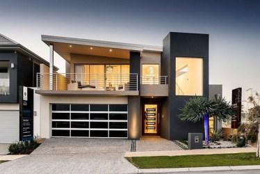 Fachada y diseño interior de casa moderna de dos pisos [fotos] Construye Hogar
