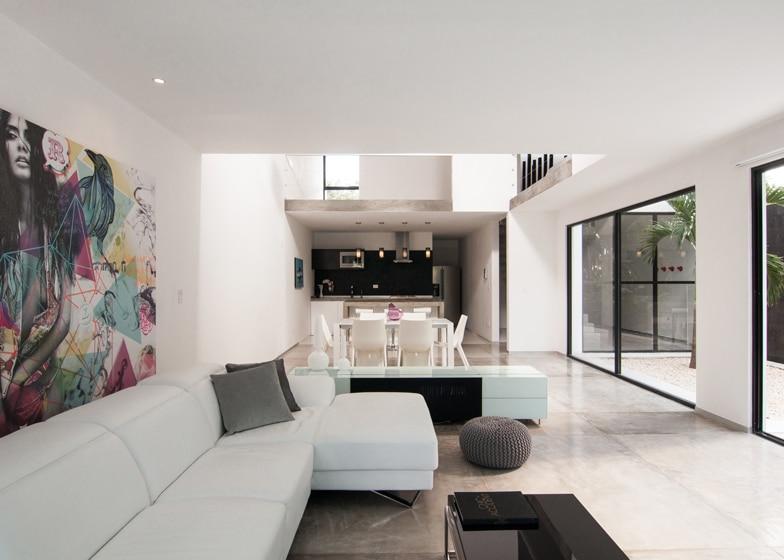 Diseo de casa minimalista de dos pisos planos y fachadas