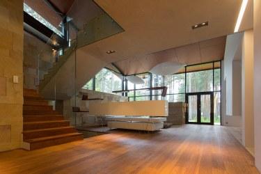 Casa de campo con planos diseño de fachada e interiores