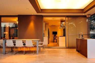 st56 casa comedor casas interiores diseno moderna moderno plantas modernas planos aires buenos argentina dos cocina epstein arquitectos dia fachadas
