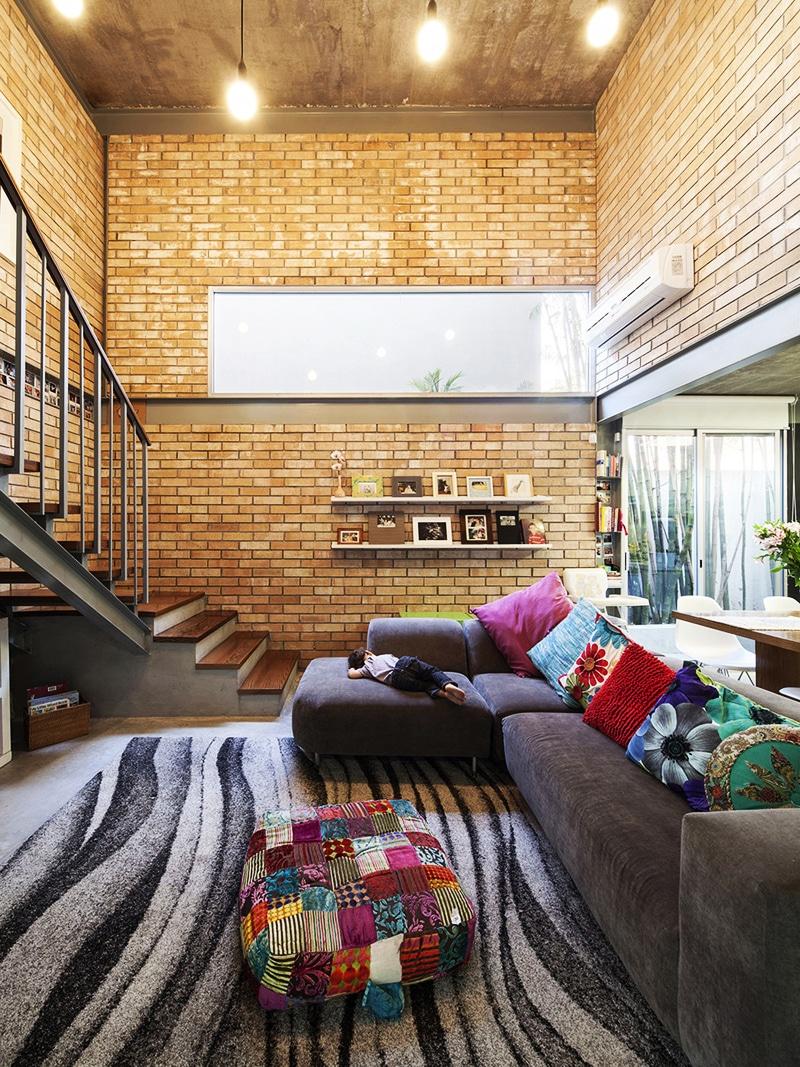 Planos de casa en forma de L diseo  Construye Hogar