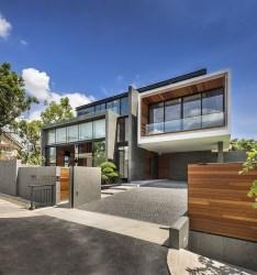 Diseño de casa moderna terreno grande