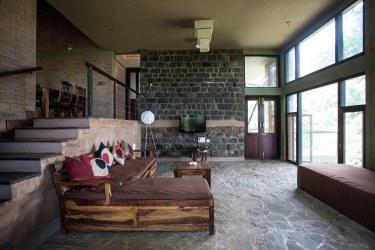 Diseño casa campo moderna estructura