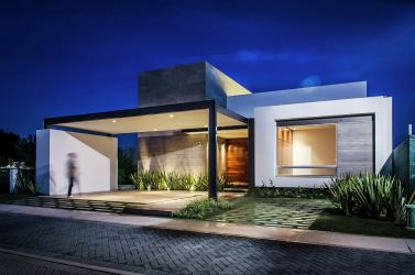 Diseño casa moderna de un piso