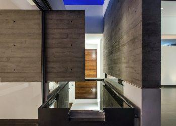 interiores casas fachadas arquitectura lindas simples muy homify casa muro interior adi minimalistyczny efekcie maksymalnym dom wow diseno mx hormigon