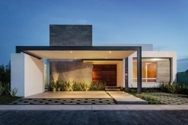 10 modelos de casas modernas de un piso ideas y estilos para construir