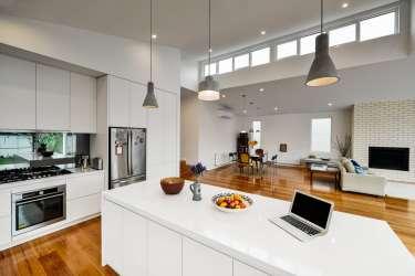 Diseño de casa moderna de un piso [Planos y fachadas