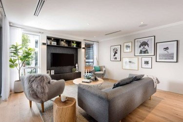 Diseño casa moderna dos pisos [planos y fachadas
