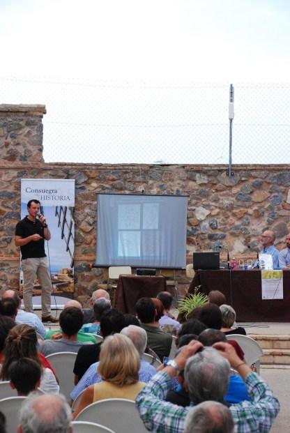 Explicación del historiador Juan Francisco Palencia sobre el circo de Consabura