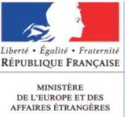 MINISTERE DES AFFAIRES ETRANGERS