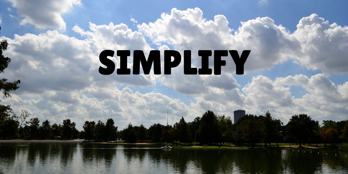 simplify bookkeeping