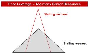 Too many senior resources