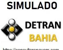 simulado detran ba