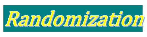Randomization