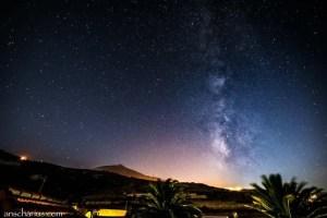 Milchstraße über Teneriffa