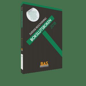 BAS-kontoplanen - Bokslutsboken 2018