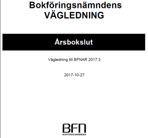 K2 Årsbokslut New Lecture On Swedish Standard for Smaller Entities | Nytt utbildningsmaterial
