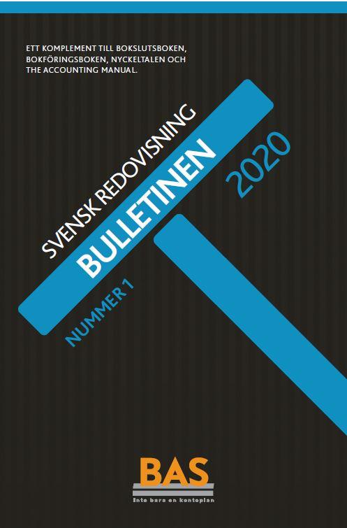 BAS Nyckeltal för kundfordringar i Bulletinen 1/2020