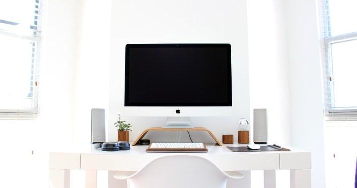 Organised desk, organised mind