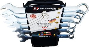 CHAMPION CP-237 Ring-Steeksleutelset 6-delig 6 t/m 17mm