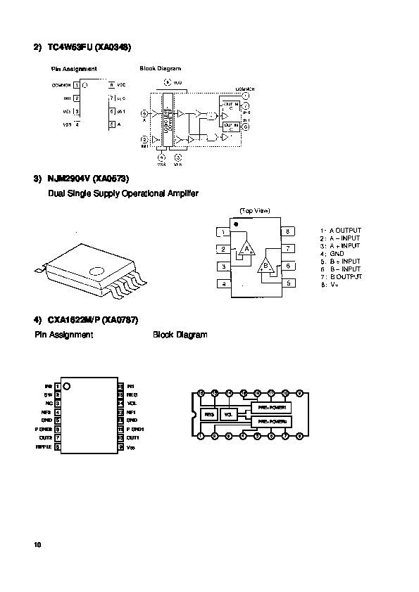 Alinco DJ-X3 VHF UHF FM Radio Service Manual