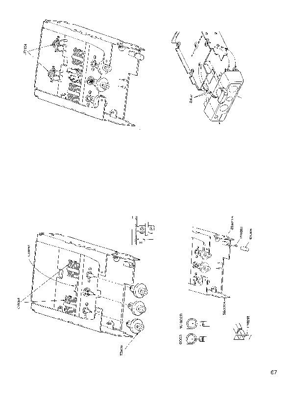 Alinco EDX1 SM VHF UHF FM Radio Instruction Manual