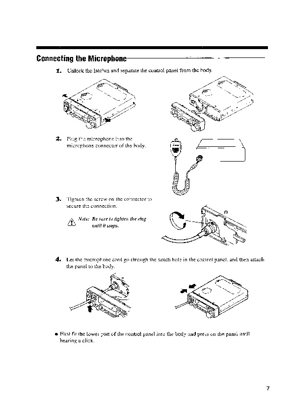 Alinco DX-801 VHF UHF FM Radio Owners Manual