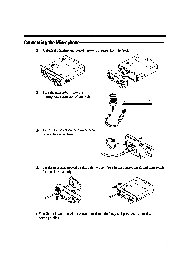 Alinco DX-701 VHF UHF FM Radio Instruction Owners Manual