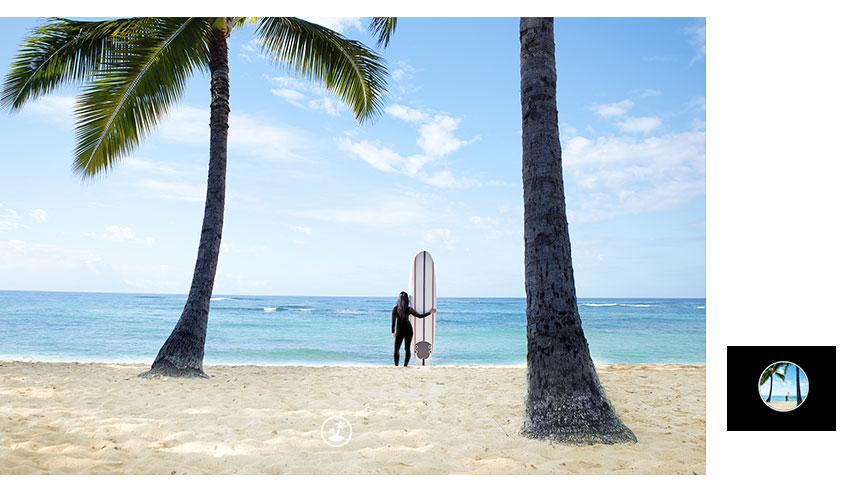 HUAWEI nova 3i camera AI scenes beach