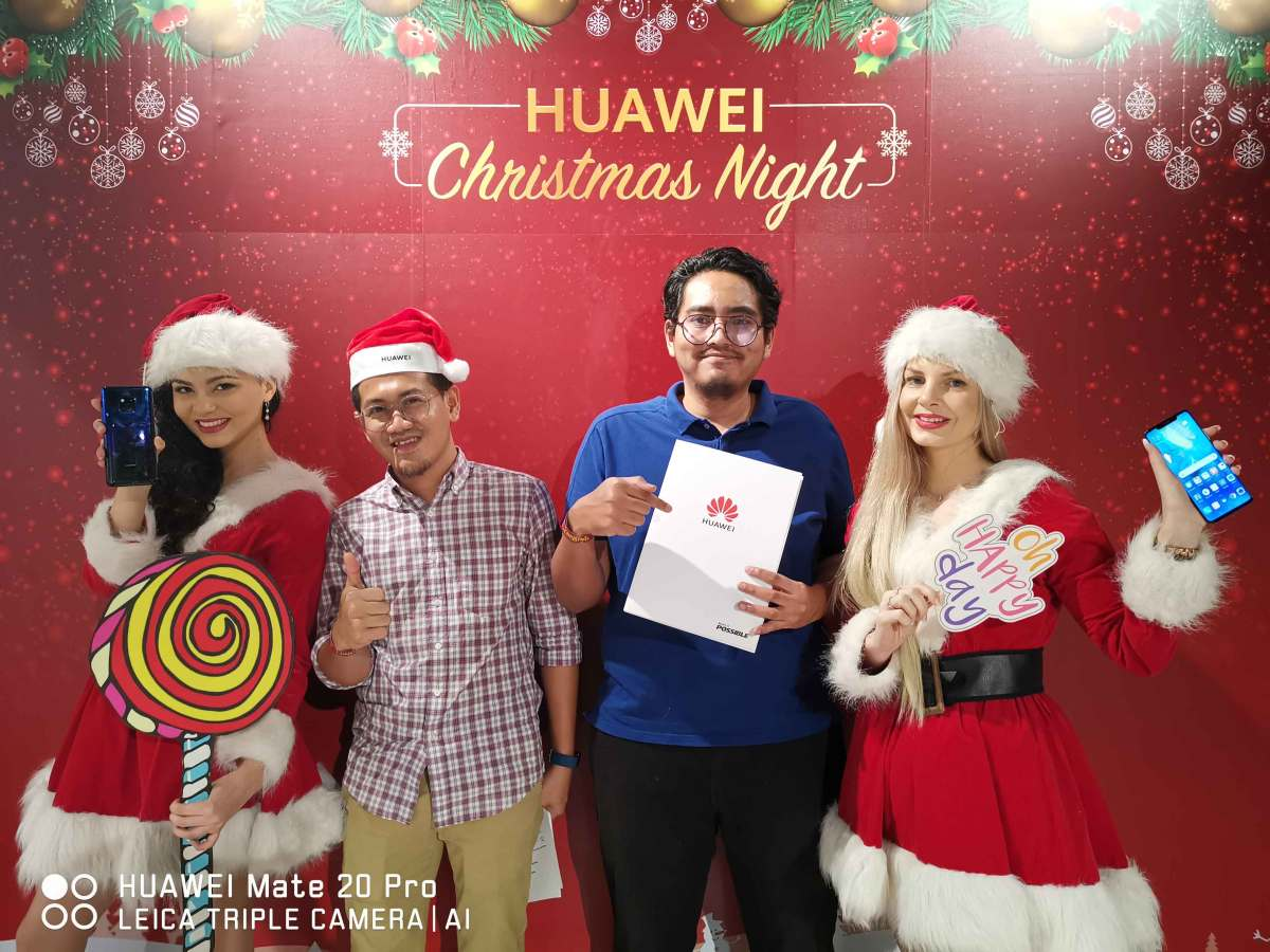 HUAWEI Christmas Night Media Report