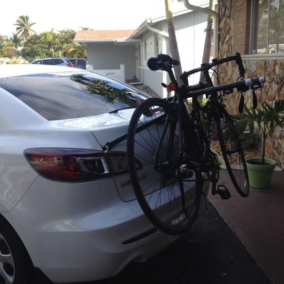 allen sport deluxe 3 bike trunk mount